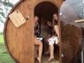 sauna inside