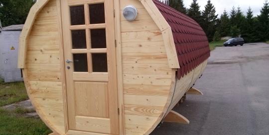 Barrel sauna 5m