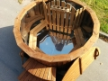 Stainless steel wooden hot tub