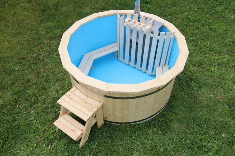 Polypropylene wooden hot tub