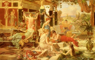 culture of ancient hot tubs